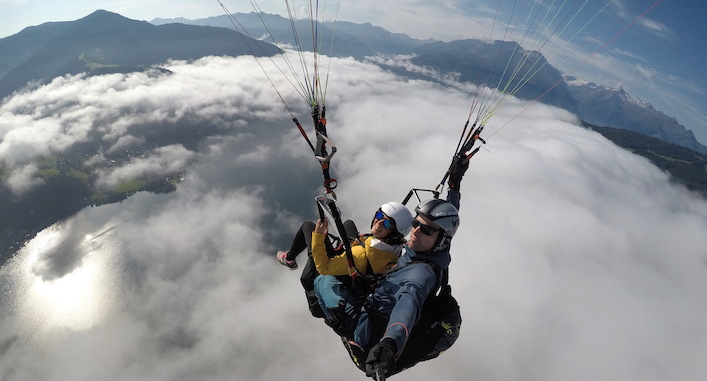 paraggliding Zell am See